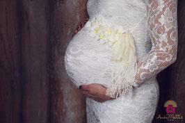 Fotoaccessoire Bauchband Fotografie Babyfotogafie