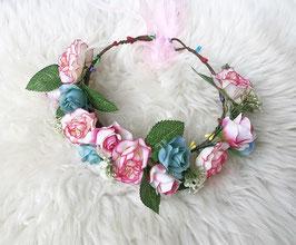 Blumenkranz Fotografie Taufe Blumenmädchen