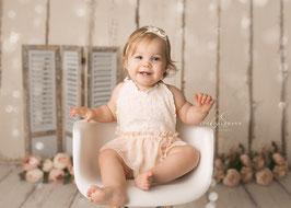 Body Sitzkinder Babyfotografie shooting Sitter Overall Spitzen Body