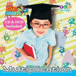 Multiplication CD&DVD(英語でかけ算やってみよう!)