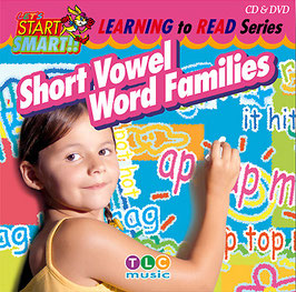 Short Vowel Word Families CD&DVD(短母音ライムの練習ソング)