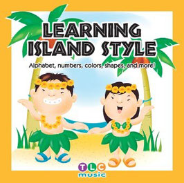 Learning Island Style CD(ハワイ風の教育ソング)