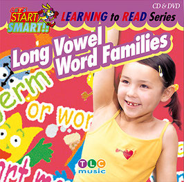 Long Vowel Word Families CD&DVD(長母音ライムの練習ソング)