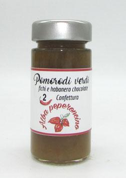 Confettura Pomodori verdi, Fichi e Habanero Chocolate