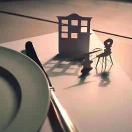 6er Tischset Bauernstübli 073 in Cellophanhülle