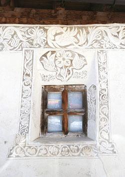Postkarte Sgraffito Fenster, 153