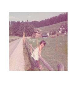 Postkarte Alt Sommer Kind