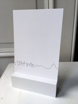 Postkarte d'Schwiz 210