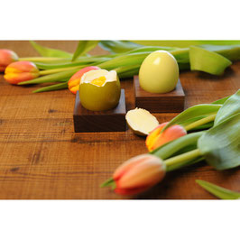 Eierbecher aus Nussbaumholz 2er Set