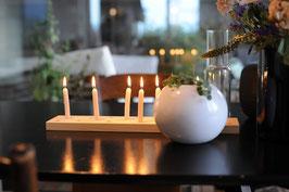 Kerzenhalter für 20 kleine Kerzen aus Fichtenholz