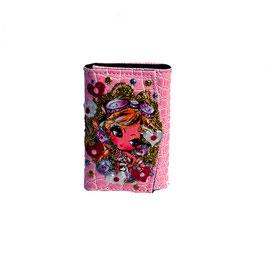 キーケース ピンク2806