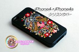 iPhone4/4S シリコンカバー/ケースBlack2800
