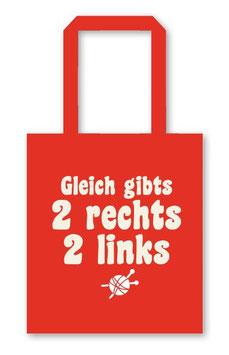 strickimicki Tasche/ 2rechts 2 links