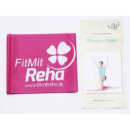 Fitnessbänder FitMitReha mit Anleitung