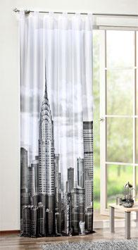 Schlaufenschal New York mit Digitaldruck