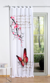 Schlaufenschal Butterfly  mit Digitaldruck