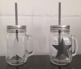 Smoothieglas Star