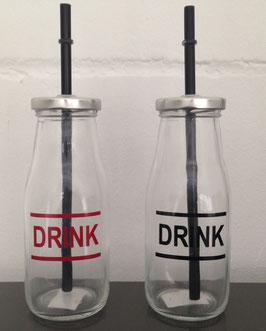 Smoothieglas Drink Set 2tlg