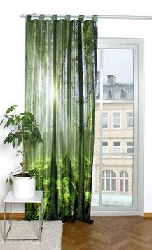 Schlaufenschal Grüner Wald  mit Digitaldruck
