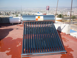 Calentador solar Alta Presión 4-5 personas
