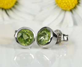 Sweeties Ohrstecker Peridot 7 mm