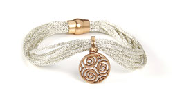 Luca Lorenzini Armband mit Magnetverschluss Infinity Collection