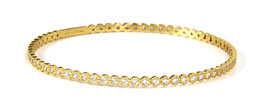 Luca Lorenzini Armreif Gelbgold Bloom Collection