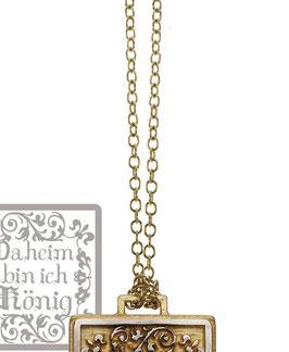 Kerstin Henke Collierkette 750/- Gelbgold