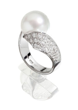 Ring von Utopia, Tango Collection WG 750, Brillanten insgesamt 0,6 ct