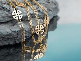 """Goldkette """"Rue Cambon"""" aus 750/000 Gelbgold"""