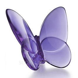 Baccarat Glücksschmetterling violett