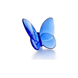Baccarat Glücksschmetterling blau