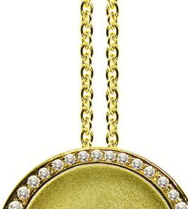 Goldkette aus 585/000 Gelbgold
