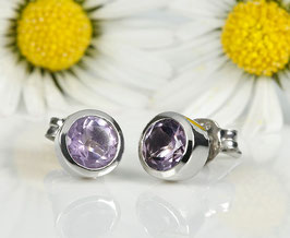 Sweeties Ohrstecker Amethyst 7 mm