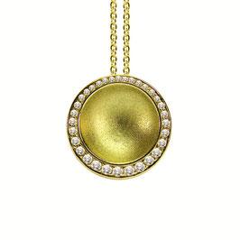 Noen Anhänger Gelbgold mit Diamanten
