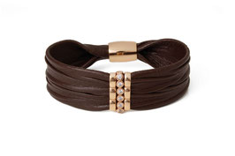 Luca Lorenzini Armband  mit Magnetverschluss Onde Collection