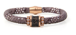 Luca Lorenzini Armband 19 cm, Trama Collection