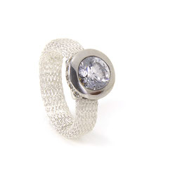 Luca Lorenzini Ring Crystal Collection mit Zirkonia