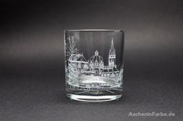"""Glas """"Aachener Dom"""", weiß"""