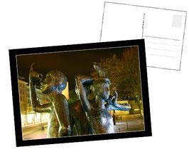 "Postkarte ""Klenkes bei Nacht"""