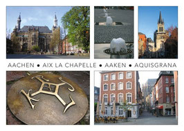 "Postkarte ""Aachen international"""