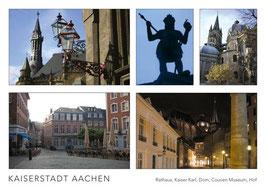"""Postkarte """"Kaiserstadt Aachen"""""""
