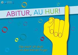 "Postkarte ""ABITUR, AU HUR!"""