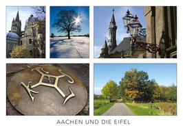 """Postkarte """"Aachen und die Eifel"""""""
