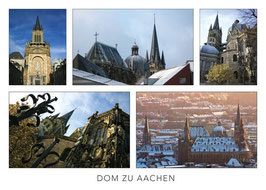 "Postkarte ""Dom zu Aachen"""