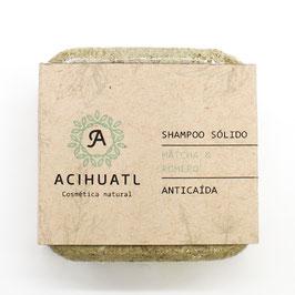 Shampoo Sólido Acihuatl - ANTICAÍDA