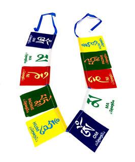 Banderines pequeños de tela
