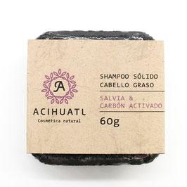 Shampoo Sólido Acihuatl - CABELLO GRASO