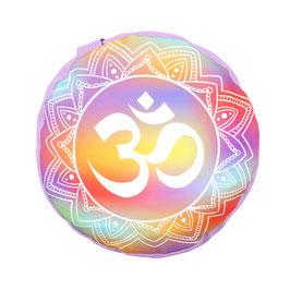 Zafu Mandala - OM RAINBOW