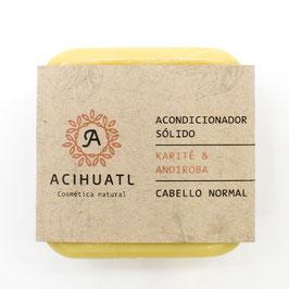 Acondicionador Sólido Acihuatl - CABELLO NORMAL